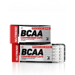 BCAA Compressed 120 kaps.