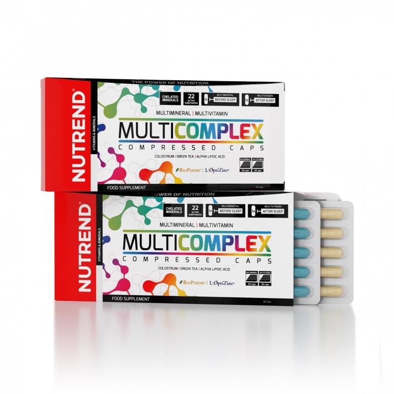 MultiComplex Compressed Caps 60 kaps.