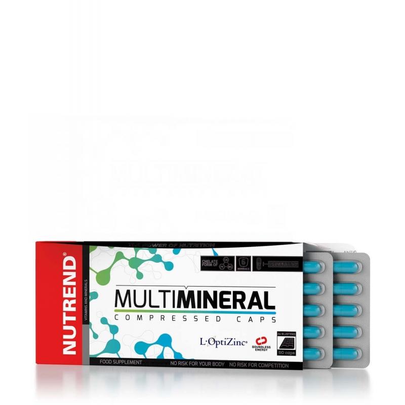 Nutrend Nutrend Multimineral Compressed 60kaps.
