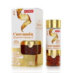 Nutrend Nutrend Curcumin + Bioperine + Vitamin D 60kaps.