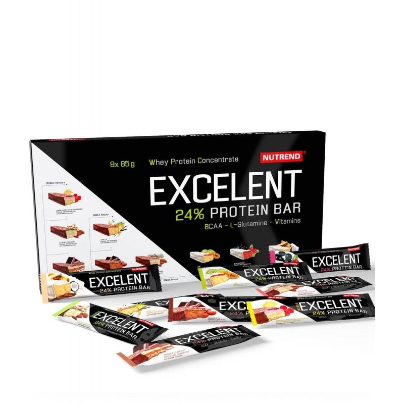 Nutrend Nutrend excelent Protein Bar - Bombonierka 9x85g